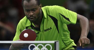 JO 2016 – Tennis de table : le Nigérian Aruna premier Africain de l'histoire en quarts