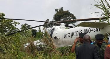 RDC – Crash d'un hélicoptère de la Monusco à Beni