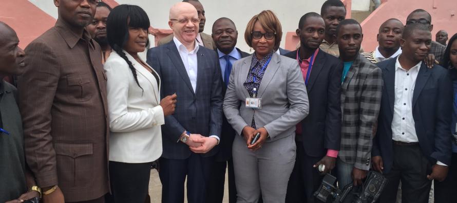 Congo : des médias reçoivent le soutien du ministre Thierry Moungalla
