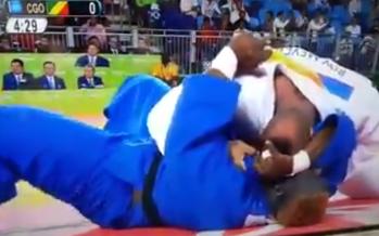 VIDÉO JO 2016 – Judo : le Congolais Ngokaba éliminé après 44 secondes de combat