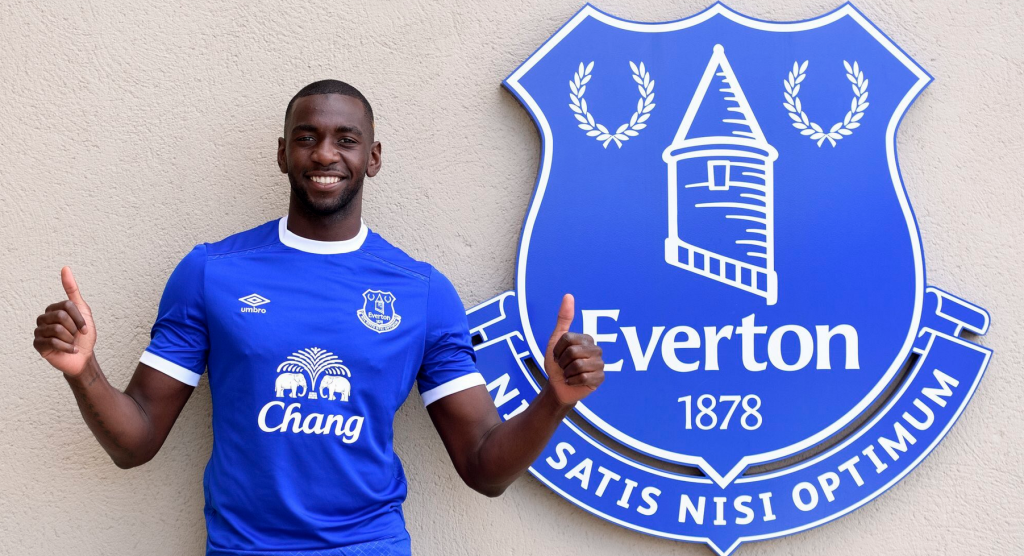 Le milieu offensif congolais Yannick Bolasie va poursuivre sa carrière à Everton.