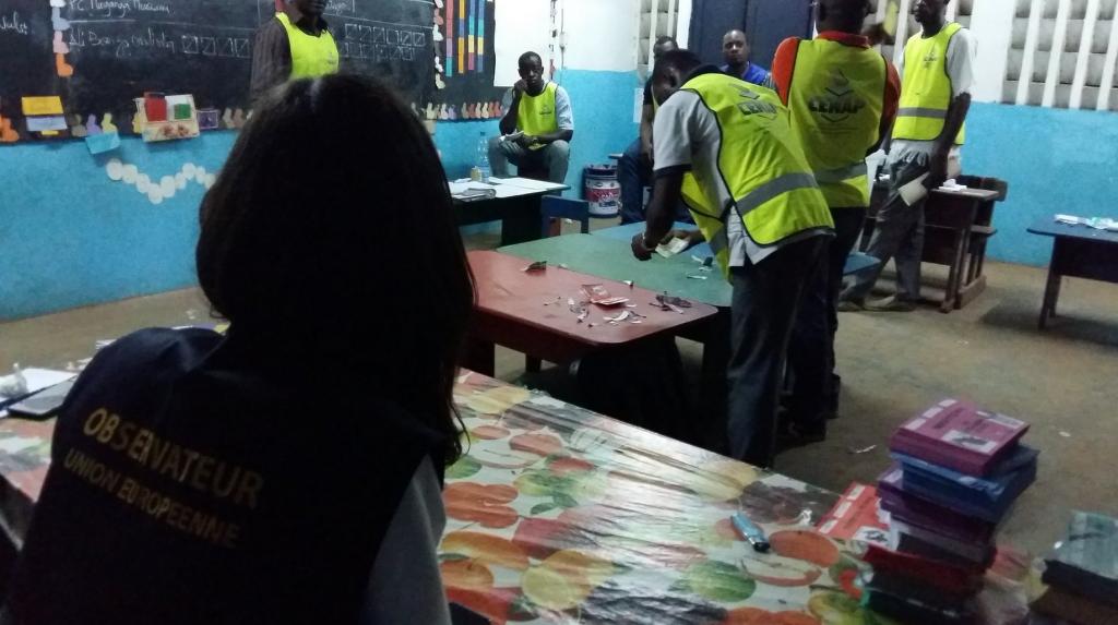 Vote au Gabon