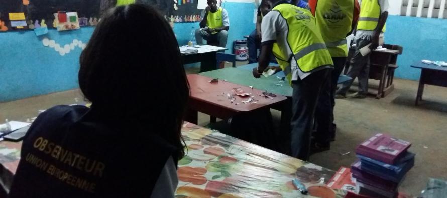Les observateurs de l'UE évoquent une «évidente anomalie» dans les résultats de l'élection présidentielle gabonaise