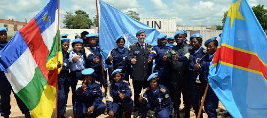 Les policiers congolais de la MINUSCA «menacés» par leur hiérarchie à Kinshasa