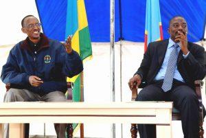 Paul Kagamé et Joseph Kabila