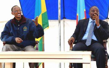 RDC – Rwanda : Joseph Kabila rencontre Paul Kagamé à Gisenyi