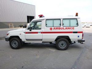 Brazzaville : une ambulance éjecte un malade presqu'agonisant
