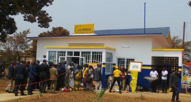 Congo : réouverture du bureau de poste de Madingou, après 19 ans d'inactivité