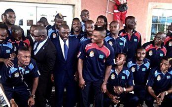 CAN 2017 : Le président Joseph Kabila octroie une prime d'encouragement de 200.000 dollars aux Léopards