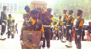 Brazzaville rend un dernier hommage à l'artiste musicien Kouka Célestin Alias « Ya Célio »