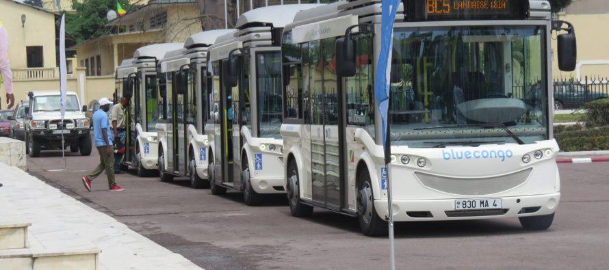 Congo : Après la phase expérimentale, le Maire de Brazzaville lance les premiers bus électriques