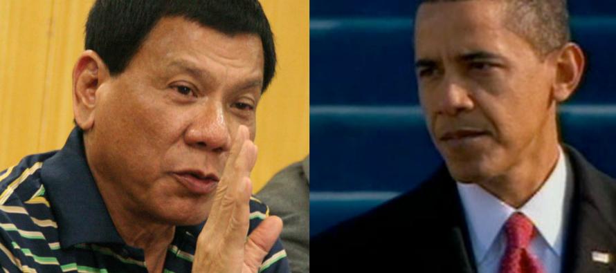 Le président philippin Rodrigo Dutert qualifie Barack Obama de «fils de pute»