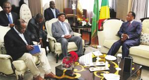 Étienne Tshisekedi et Sassou