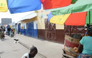 commerçants ouest africains a Brazzaville