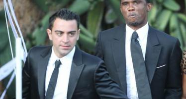 Ballon d'Or : Eto'o monte au créneau pour défendre Xavi… et dézingue Cristiano Ronaldo !