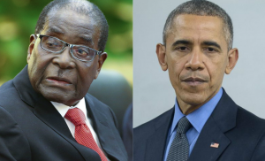 Robert Mugabé et Obama