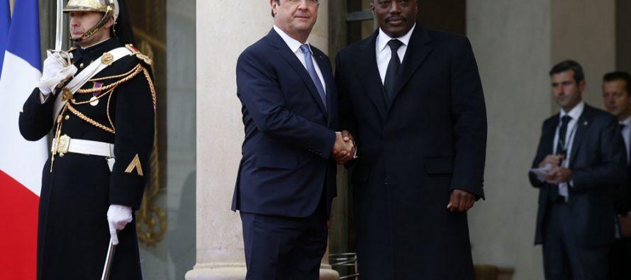 François Hollande à Kabila: « il y a une Constitution, elle doit être respectée »