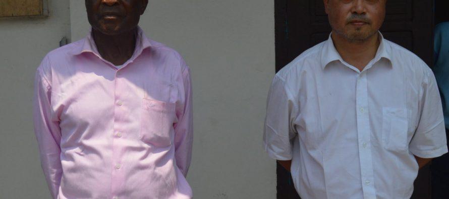 Congo – Santé : le professeur Zhou et Daniel Kaya-Kaya entre les mains de la Gendarmerie