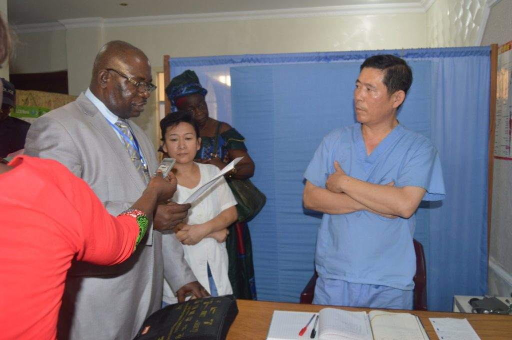 docteur Kim Sante au Congo