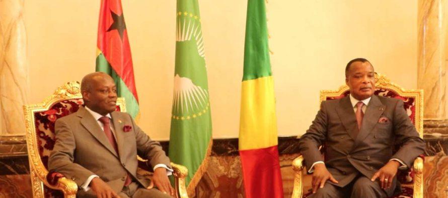 Congo-Guinée Bissau : le président José Mario Vaz en visite à Brazzaville