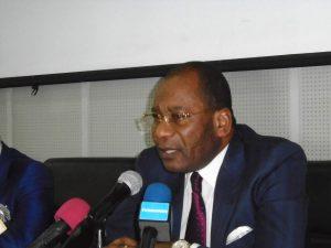 Le ministre de la justice Pierre Mabiala