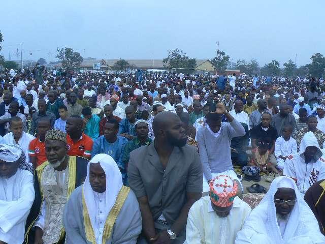 des musulmans  au Congo Brazzaville