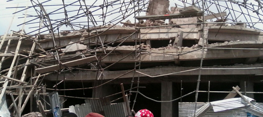 RDC : 7 morts dans l'effondrement d'un immeuble en construction à Kinshasa