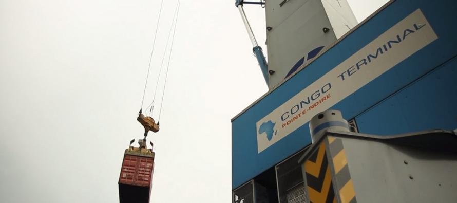 Port autonome de Pointe-Noire : Congo Terminal poursuit ses investissements avec l'acquisition de deux nouveaux portiques de quai