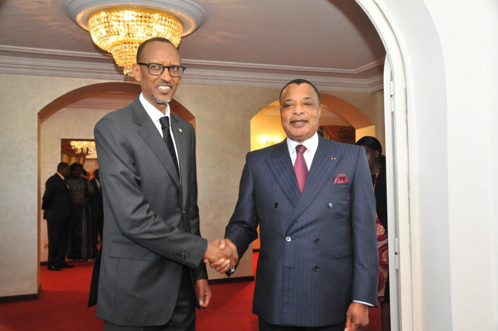 Sassou-Nguesso et Kagame