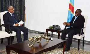 Premier tête à tête entre Joseph Kabila et son nouveau premier ministre Samy Badibanga