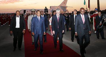 Le Chef de l'Etat est à Marrakech pour prendre part à la COP22