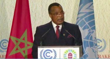 COP22: Denis Sassou N'Guesso annonce la création d'un fonds bleu pour le bassin du Congo