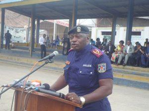 le général Kanyama, chef de la police de Kinshasa