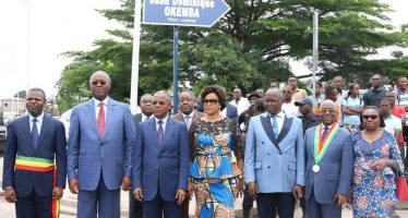 EN IMAGES – Congo : Les réseaux sociaux ridiculisent l'avenue Jean Dominique Okemba
