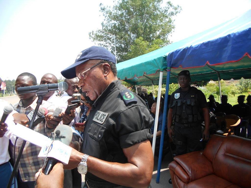 Le directeur général de la police du Congo, le général Jean François Ndenguet