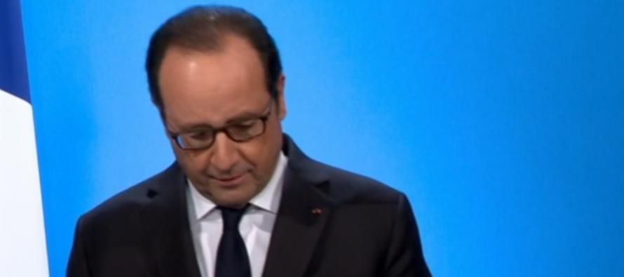 France : Hollande annonce qu'il ne briguera pas de nouveau mandat en 2017