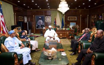 Gambie: pas encore d'accord avec Yahya Jammeh pour son départ du pouvoir
