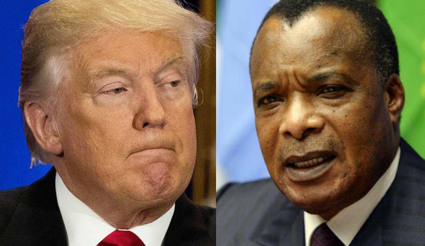 Denis Sassou-Nguesso et Donald Trump