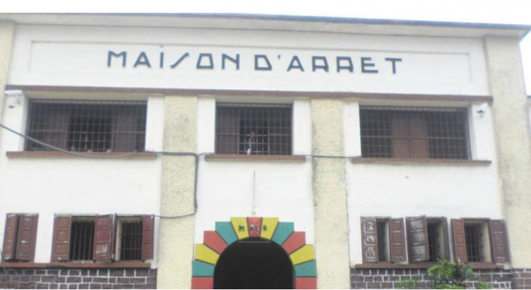 la maison d'arrêt de Brazzaville