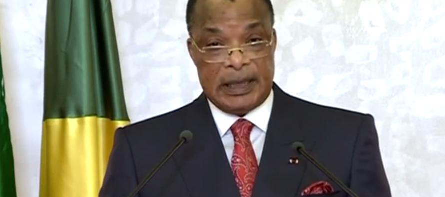 VIDÉO – Vœux de Sassou Nguesso aux Congolais :  «l'année 2017 sera plus rude que l'année 2016»