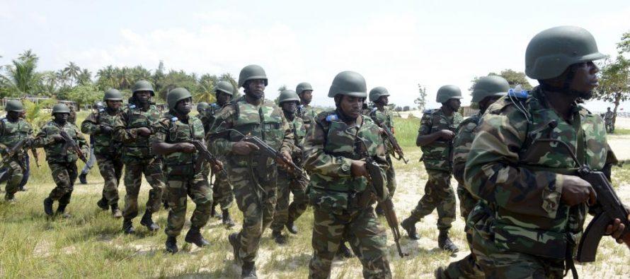 Début de l'intervention militaire en Gambie