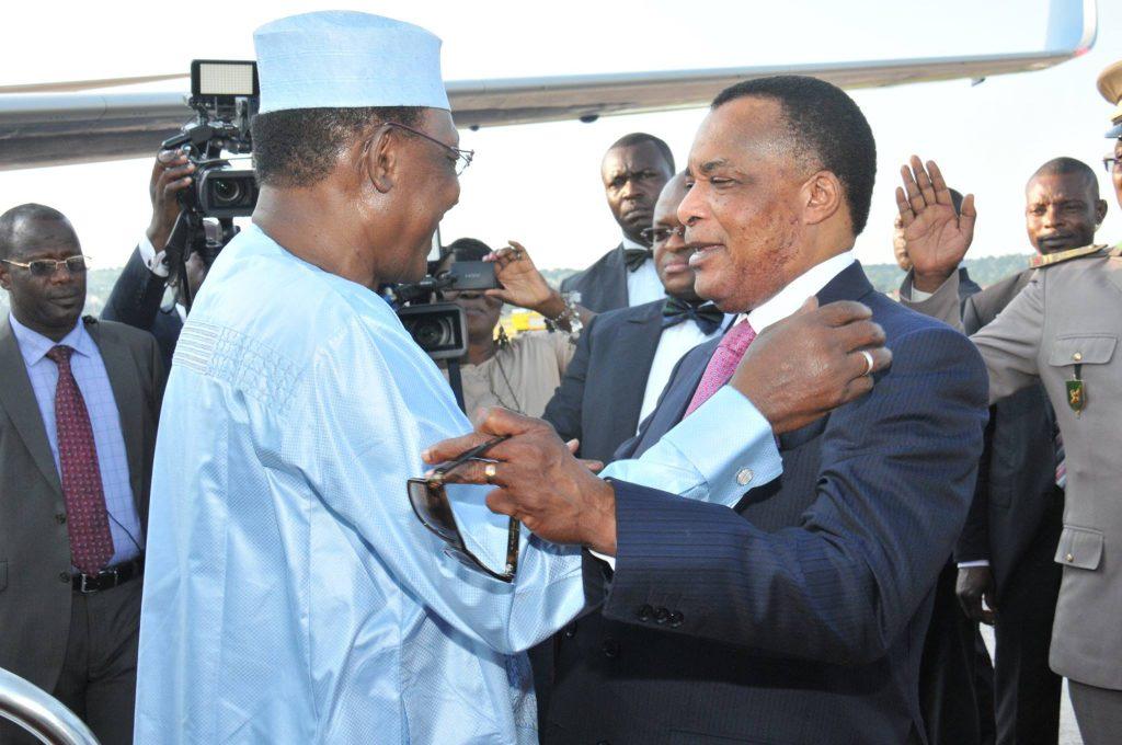 Sassou et Idriss Deby