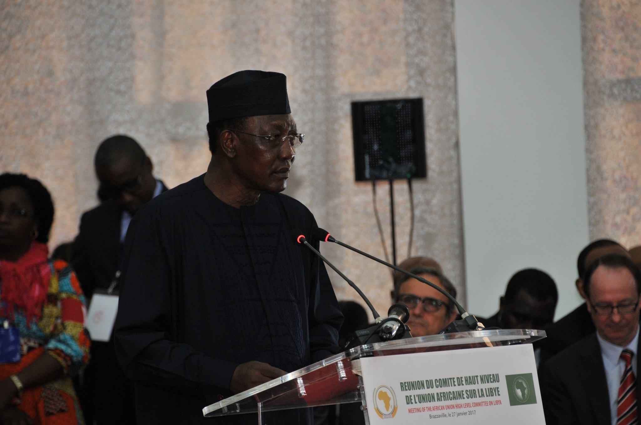 Le président tchadien, Idriss Déby Itno