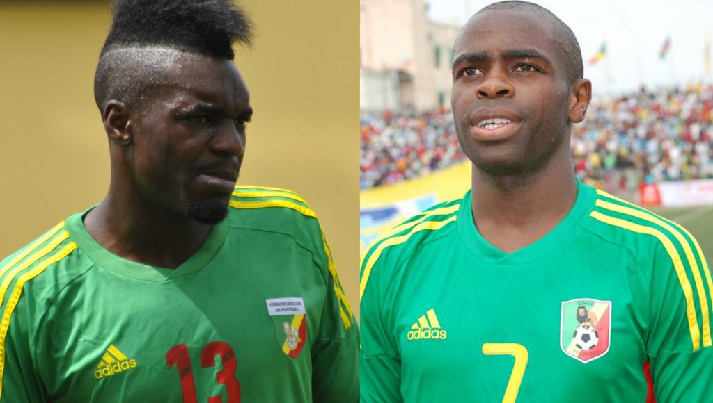 Thievy Bifouma et Prince Oniangué