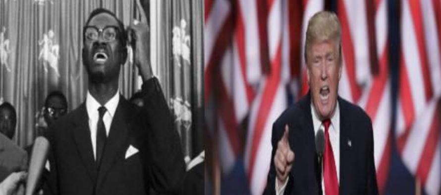 Etats-Unis – Discours investiture : Quand Donald Trump rappelle étrangement Patrice Emery Lumumba