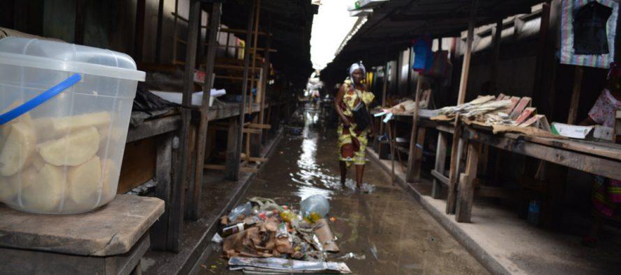 Brazzaville : A l'insalubrité s'ajoute l'inondation dans les marchés