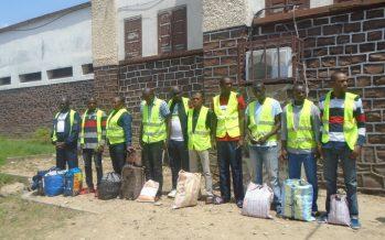 Remise en liberté de 26 prisonniers à la maison d'arrêt de Brazzaville