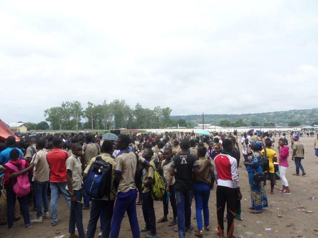 les élèves de Révolution et A A Neto Brazzaville