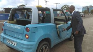 Congo - Brazzaville : Des taxis électriques, mais non peints en vert-blanc