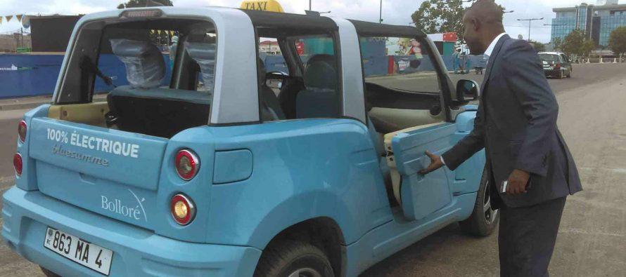 Congo – Brazzaville : Des taxis électriques, mais non peints en vert-blanc